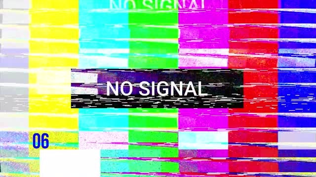 TV No Signal Pack: Stock Motion Graphics