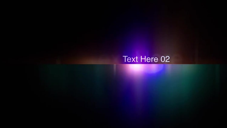 Light Titles: After Effects Templates