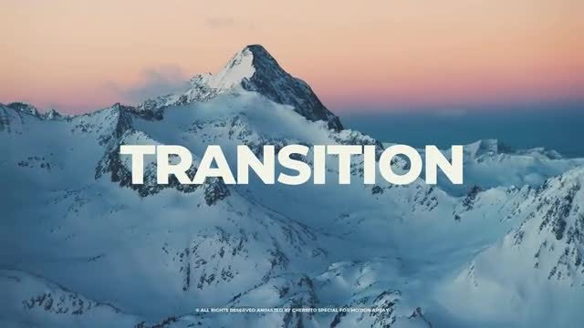 Clean Transitions v.2: Premiere Pro Templates