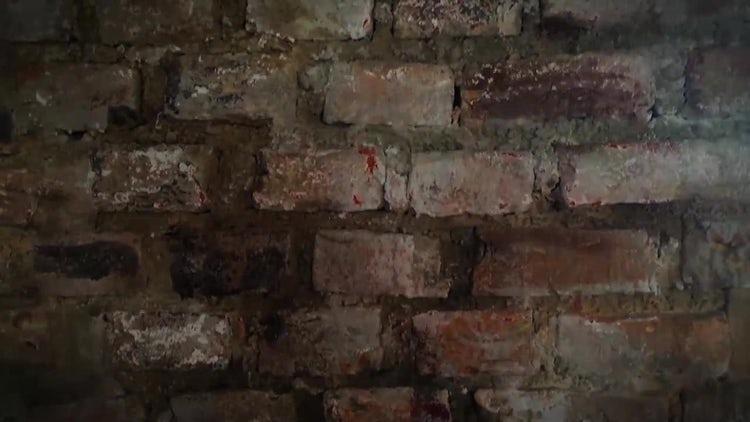 Grunge Brick Background: Stock Motion Graphics