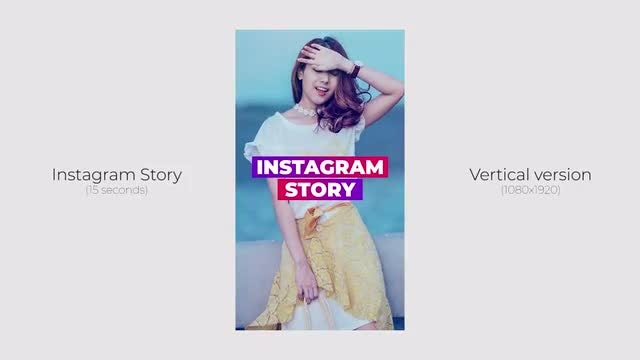 Instagram Story: Premiere Pro Templates