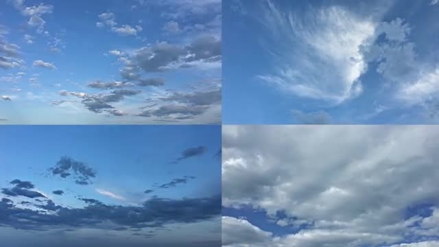 Clouds Time Lapse Pack: Stock Video