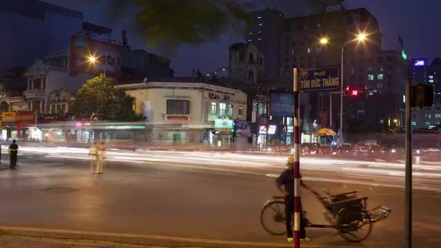 Intense Traffic In Hanoi: Stock Video