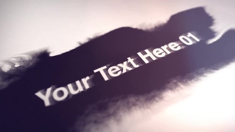 Ink Type: After Effects Templates