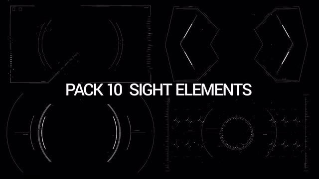 HUD Elements Pack: Stock Motion Graphics