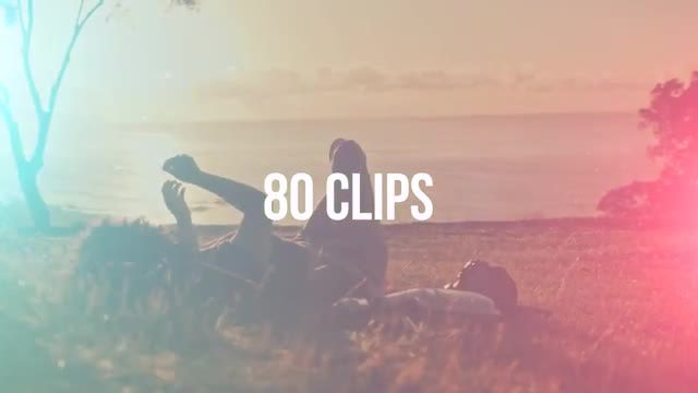 80 Light Leaks & Transitions Pack: After Effects Templates