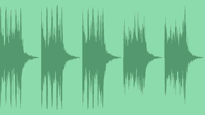 Glitch Abstract Logo: Royalty Free Music