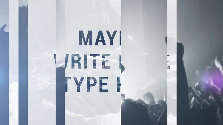 Splitter Slide: After Effects Templates