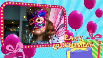 Birthday: After Effects Templates