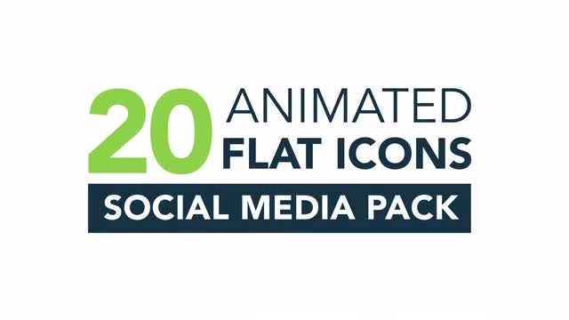Social Media Icons Pack 2: Stock Motion Graphics