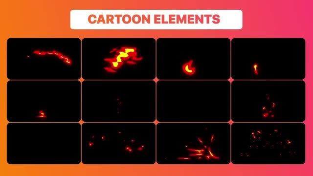Fire Elements Pack: After Effects Templates