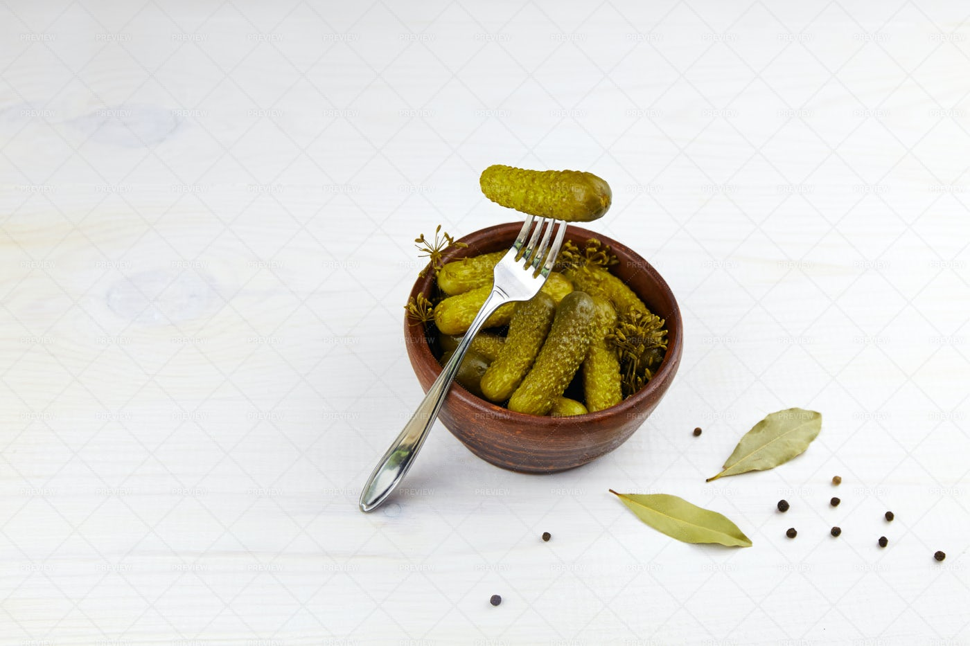 Pickled Cucumbers: Stock Photos