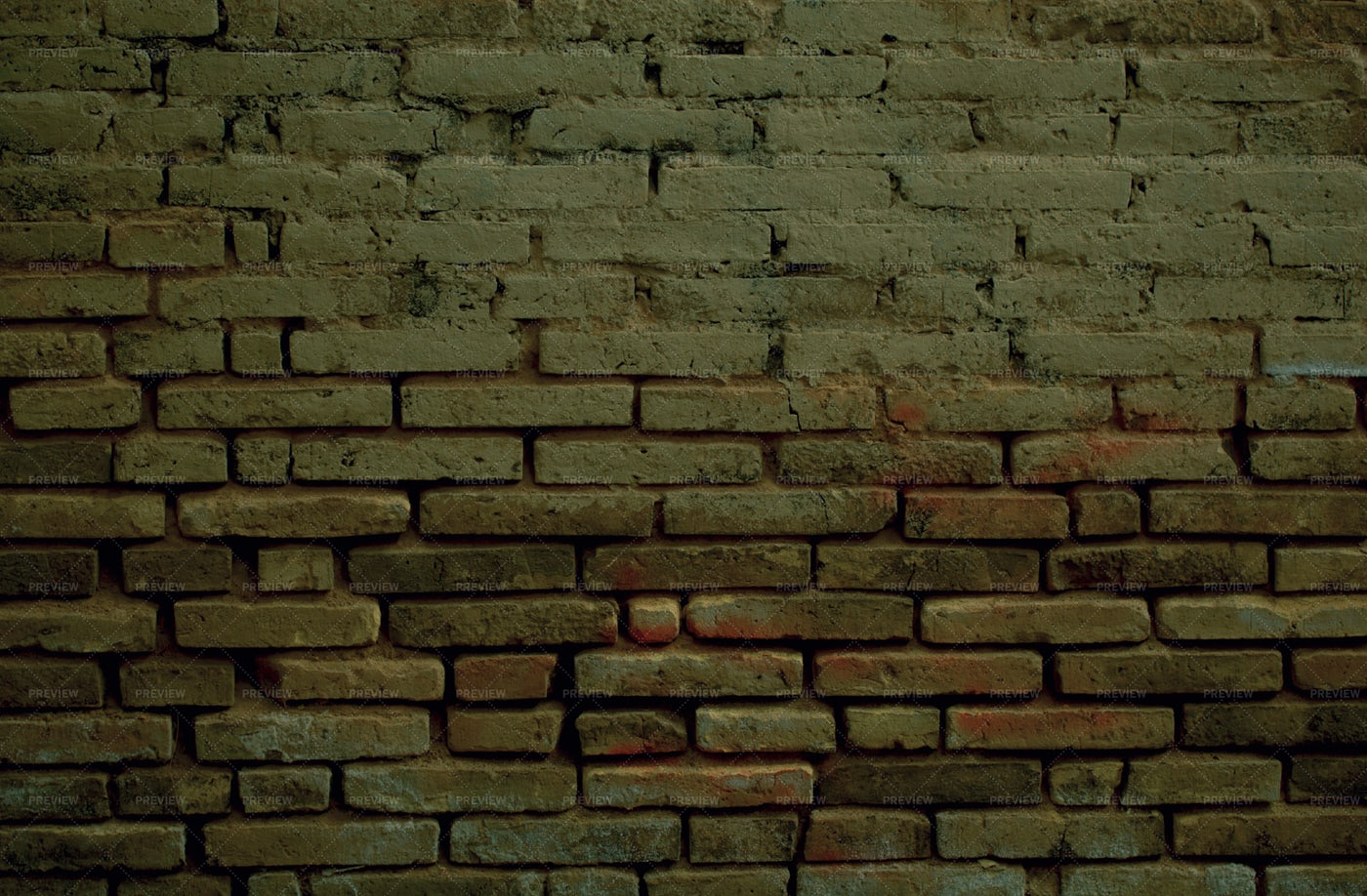 Old Weathered Clay Brick Background: Stock Photos