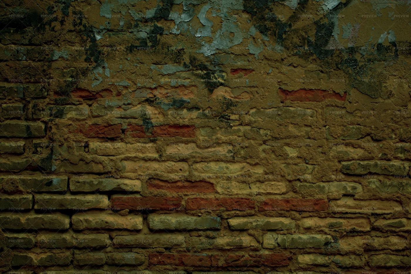 Old Weathered Brick Wall: Stock Photos