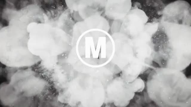 Grunge Drop Logo: After Effects Templates