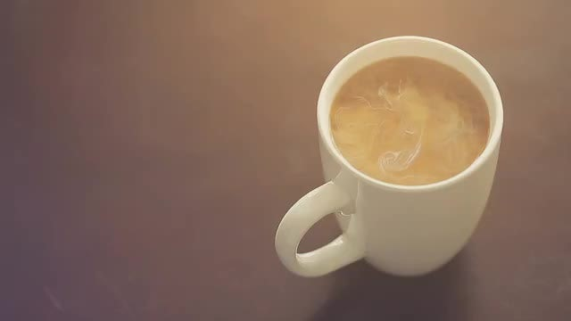 Coffee Cup: Stock Video