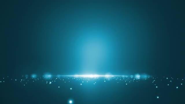 Blue Lights: Stock Motion Graphics
