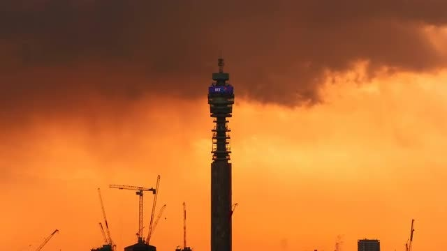 Beautiful Skyline Of London City: Stock Video