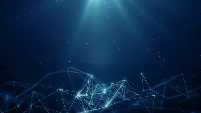 Plexus Background: Stock Motion Graphics