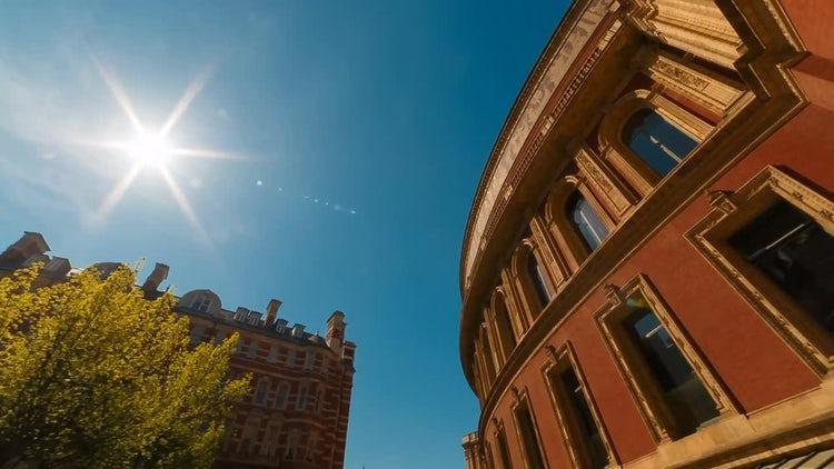 POV Of Royal Albert Hall : Stock Video
