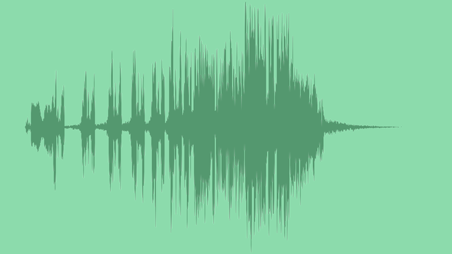 Elegant Glitch Logo: Royalty Free Music