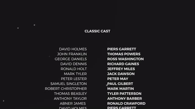 Film Credits: Motion Graphics Templates