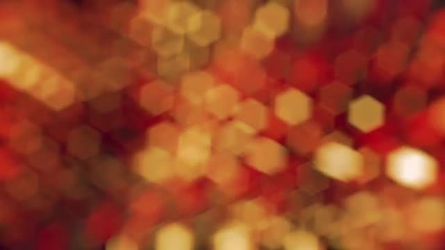 Fiery Bokeh Background: Stock Motion Graphics