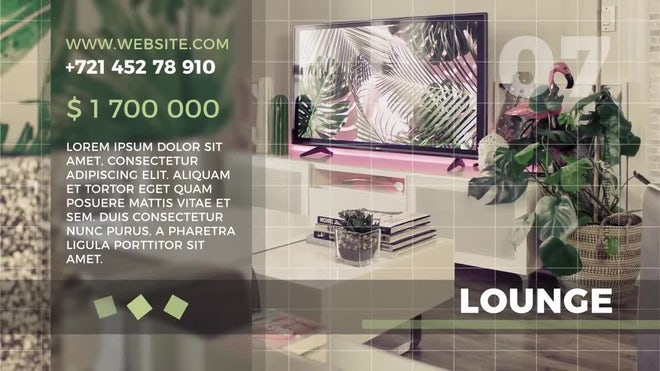 Free Minimal Estate Promo: After Effects Templates