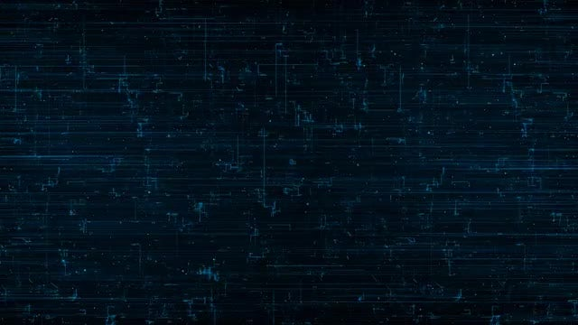 Grunge Digital Map: Stock Motion Graphics