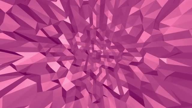 Pink Poly: Stock Motion Graphics