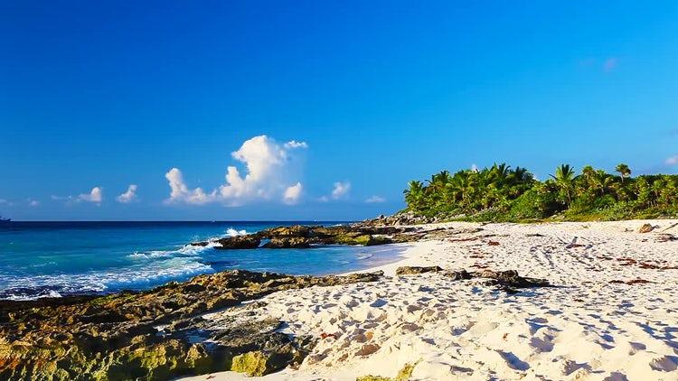 Picturesque Coast: Stock Video