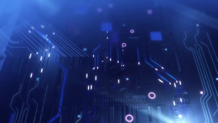 Moody Electronics Loop: Stock Motion Graphics