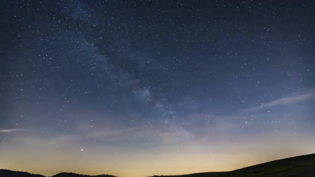 Milky Way: Stock Video