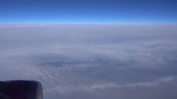 Cloud View From An Aircraft: Stock Video