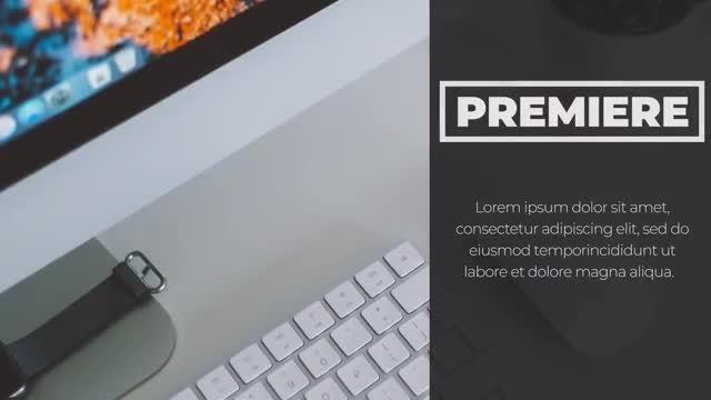 Clean & Modern Promo: Premiere Pro Templates