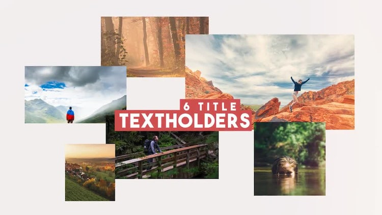 Photo/Video Slideshow: After Effects Templates