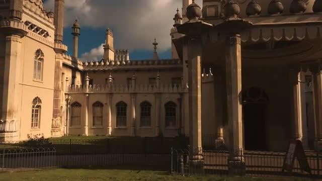 Royal Pavilion in Brighton, England, UK: Stock Video