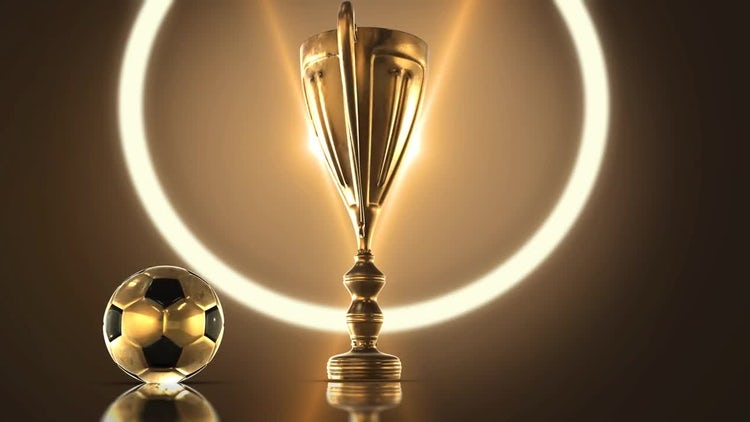 Soccer Trophy: Stock Motion Graphics
