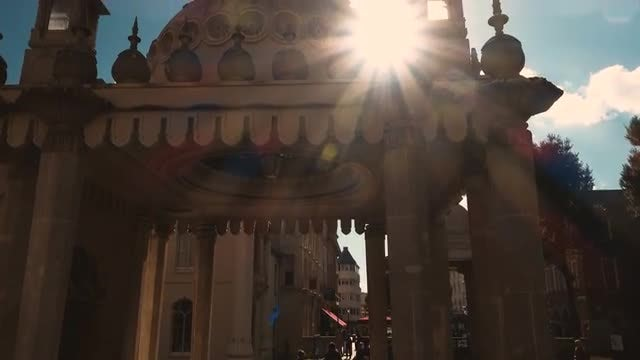 The Royal Pavilion In Brighton: Stock Video