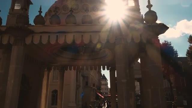 The Royal Pavilion In Brighton: Stock Video