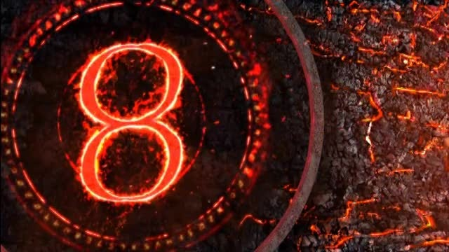 Countdown Timer - Embers And Stone: Stock Motion Graphics