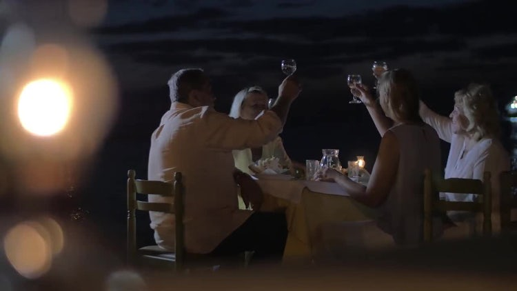 Photos For Outdoor Family Dinner: Stock Video