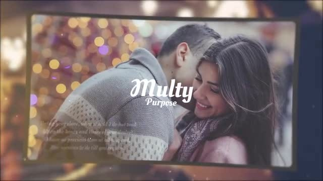 Melodic Wedding Slideshow: Premiere Pro Templates