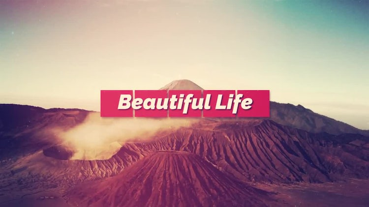 Beautiful Life: After Effects Templates