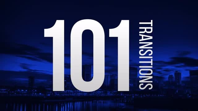 101 Transitions: Premiere Pro Templates