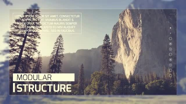 Clean & Modern Slideshow: After Effects Templates