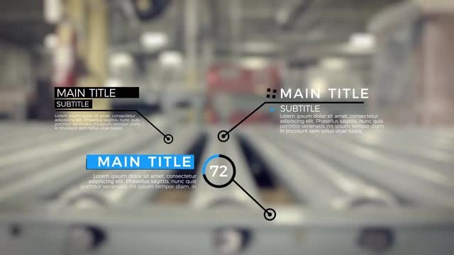 Call Outs Titles Pack: Motion Graphics Templates