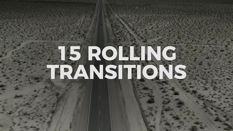 Rolling Transitions: Premiere Pro Templates