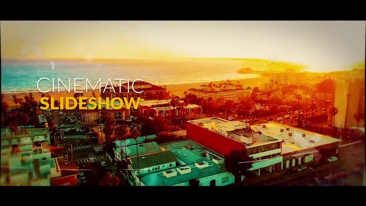 Amazing Cinematic Slideshow: After Effects Templates
