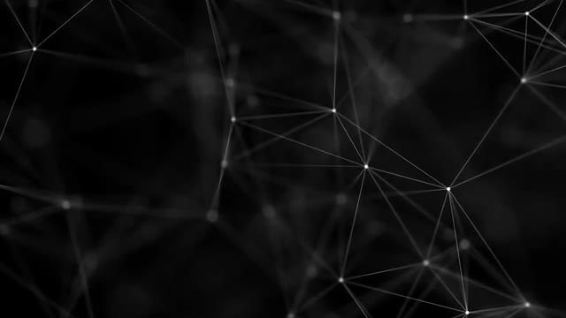 Plexus Dots With Lines - Zoom In: Stock Motion Graphics